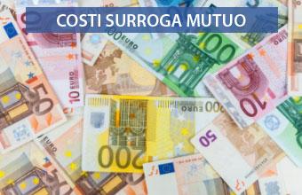 Surroga Mutuo: Quanto costa? È Gratis? Spese? Costo Zero?